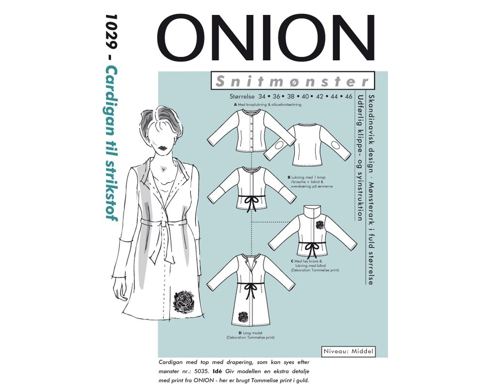 1029 Cardigan i strikstof fra Onion-31