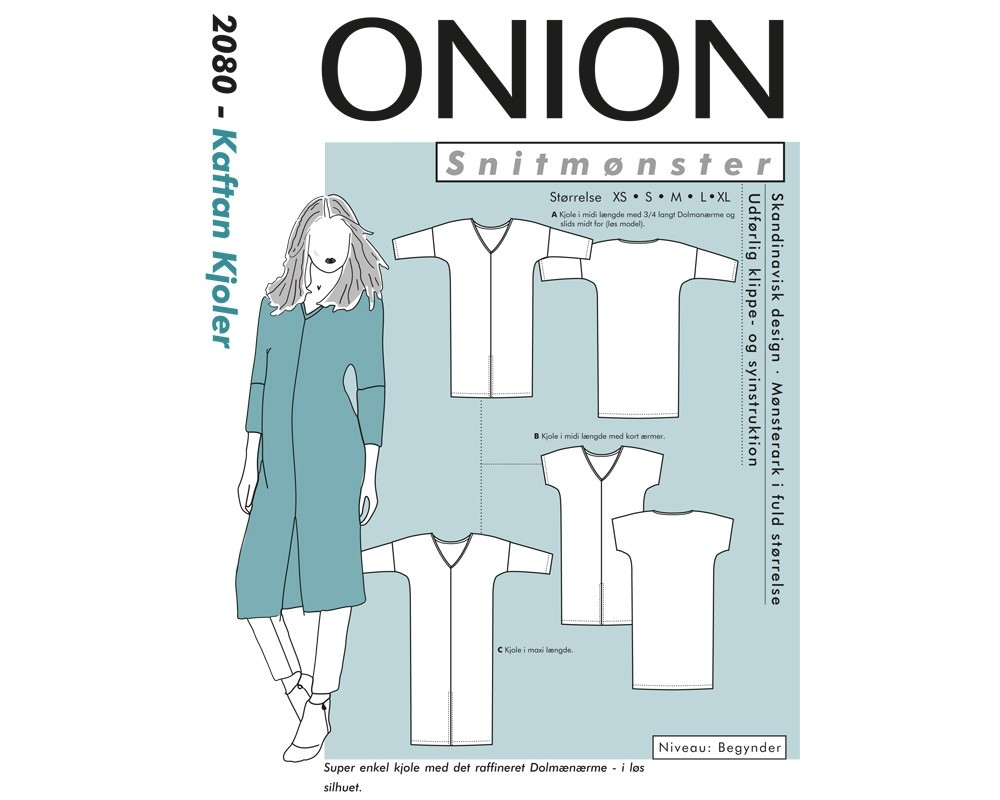 Onion 2080 Kaftan Kjole str. XS-XL-31