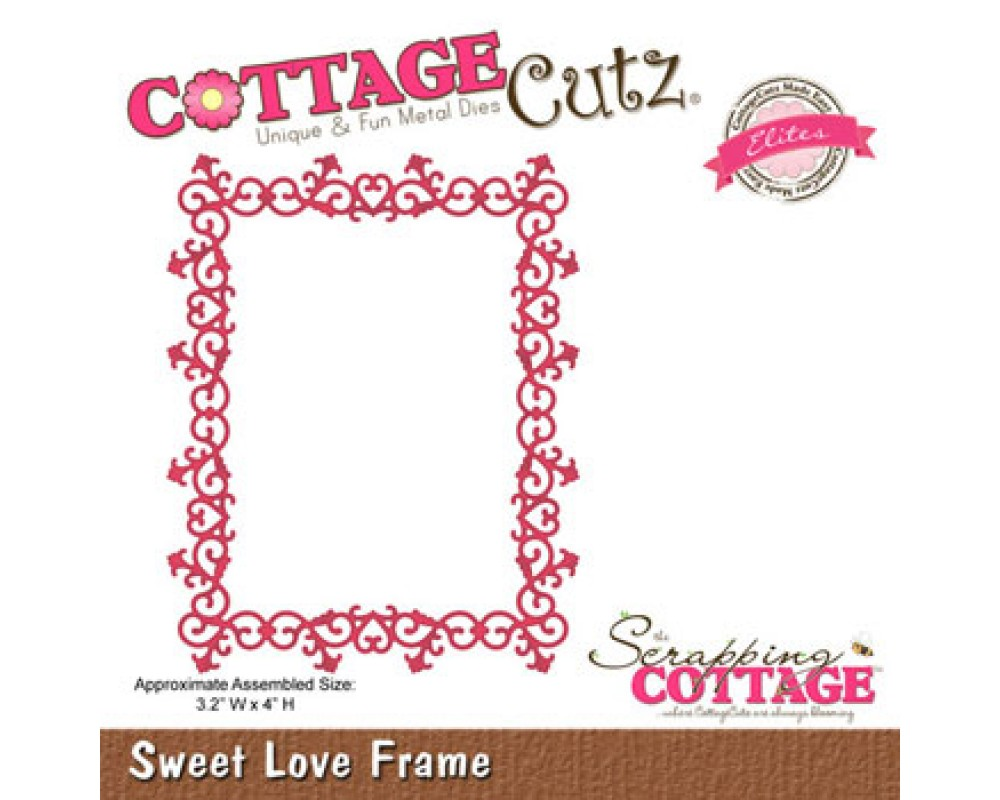 Cottage Cutz. Sweet Love Ramme-31