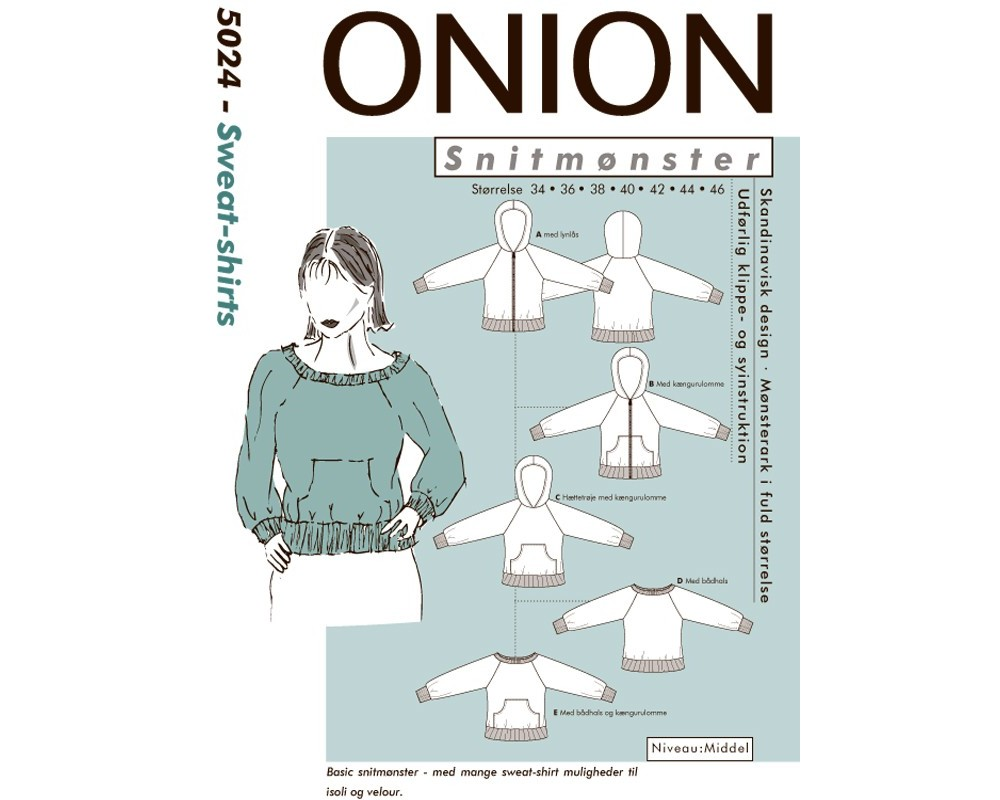 5024 Sweat-shirt fra Onion-31