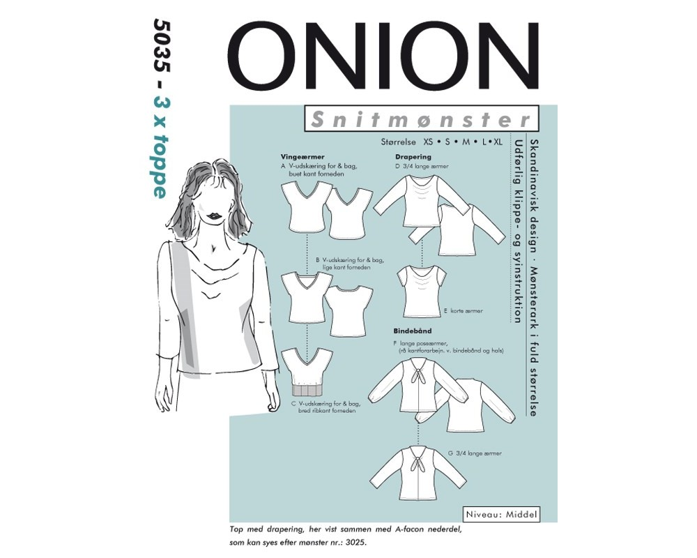 5035 3 x toppe fra Onion-31