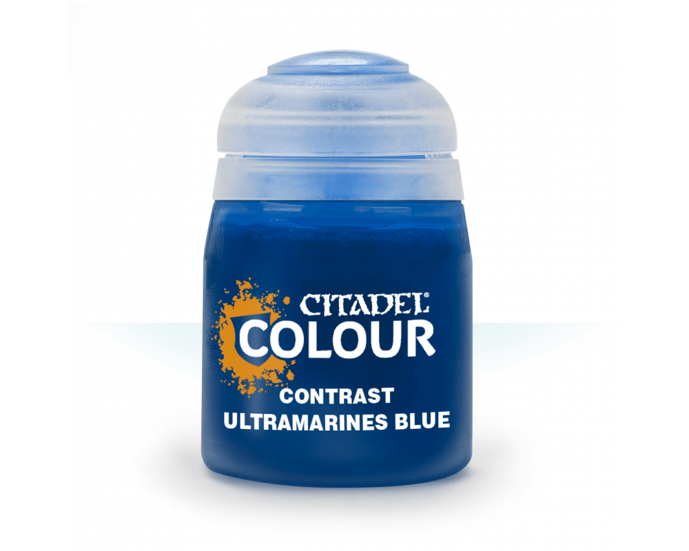 Ultramarine Blue Contrast fra Citadel, Games Workshop-31