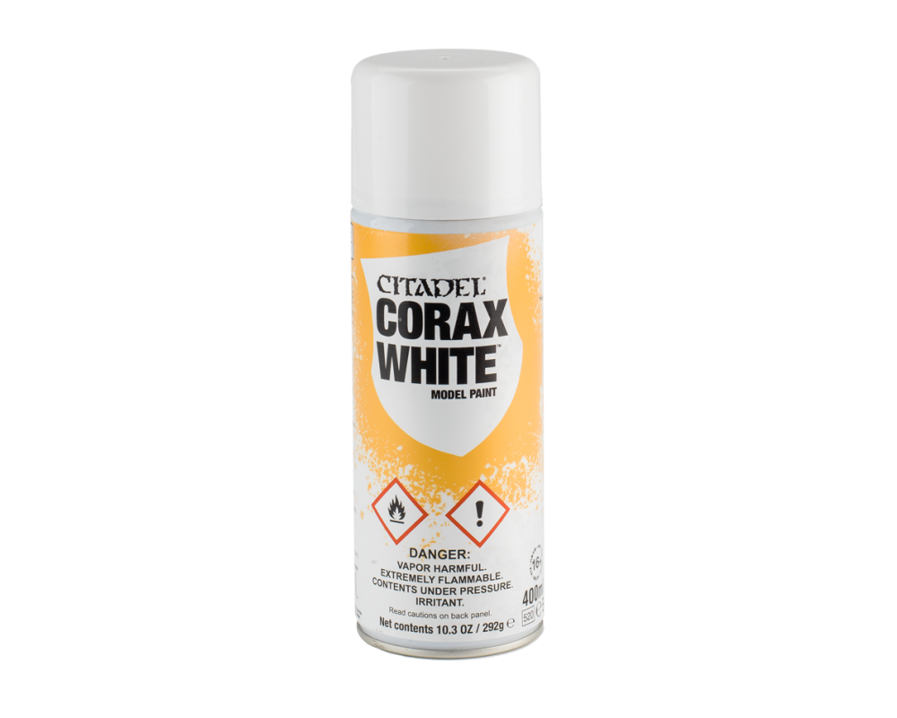 Corax White undercoat spray fra Citadel, Games workshop-31