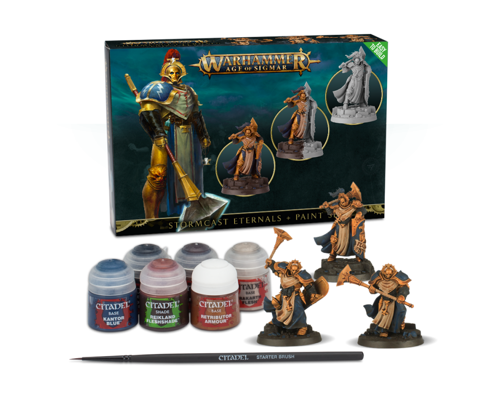 Stormcast Eternals + Paint set-31
