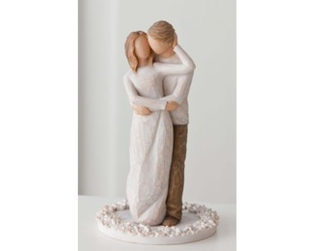 Together Cake topper fra Willow Tree-31