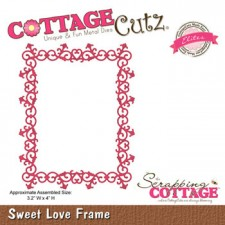 Cottage Cutz. Sweet Love Ramme