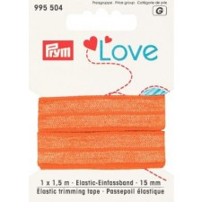 Foldeelastik fra Prym. Orange