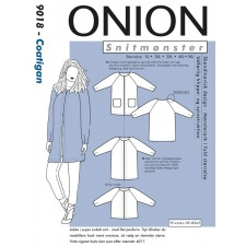 Onion 9018 Coatigan plussize XL-5XL