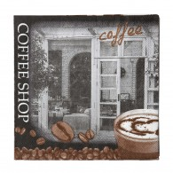 KJ Collection Servietter med Coffee shop-20