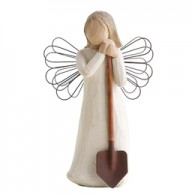 Angel of the garden fra Willow Tree-20